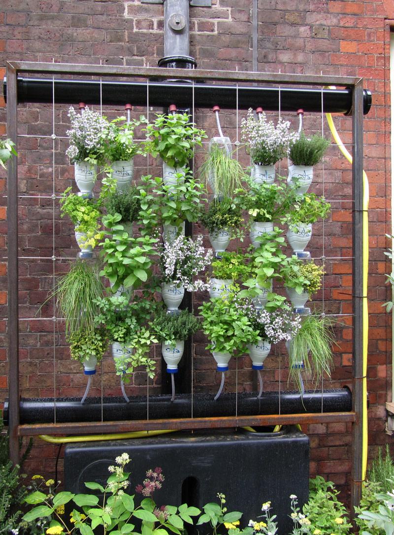 Il giardino verticale fai da te for Idea giardino