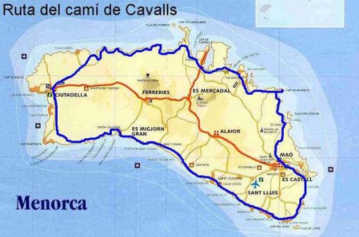 GR223-Cami des Cavalls Minorca