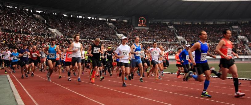 Corea Nord Pyongyang Marathon