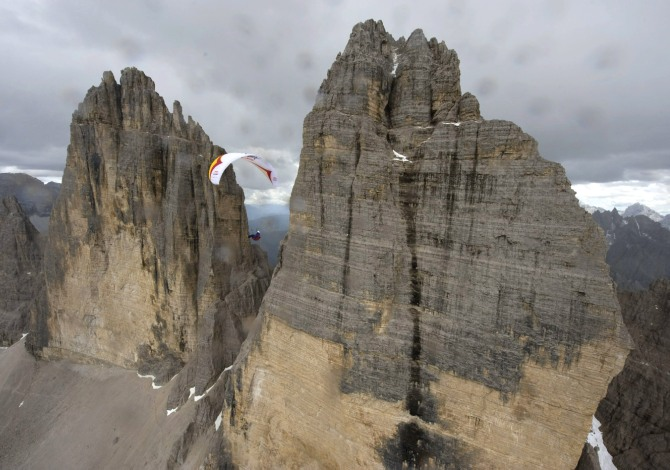 Red Bull X-Alps Extreme Paragliding