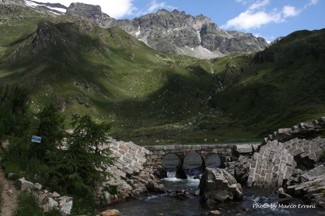 Alpe Devero Diga sul lago di Pianboglio