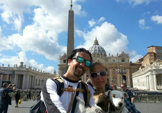 L'arrivo a Roma Credits: Andrea Ristori