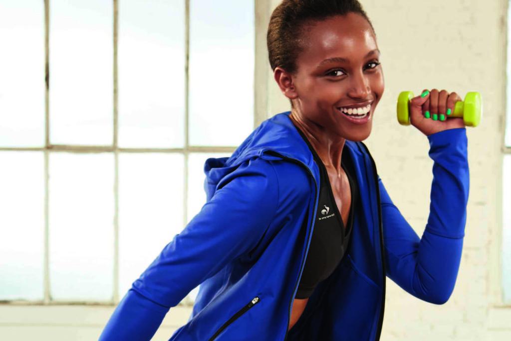 La collezione fitness per lei di Le Coq Sportif