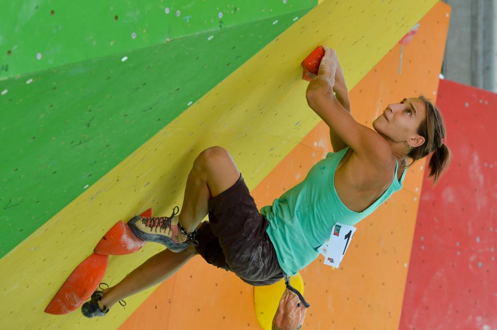 Rock Master 2013: le immagini delle qualifiche per il Boulder maschile e femminile