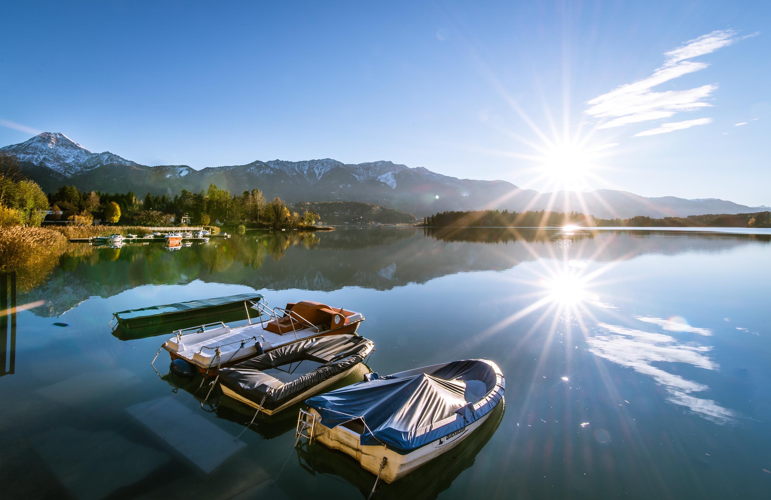 Villach: sul lago di Faak le settimane active all'insegna dell'outdoor durano fino a ottobre