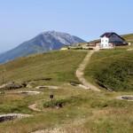 Il Rifugio Damiano Chiesa sul Monte Altissimo