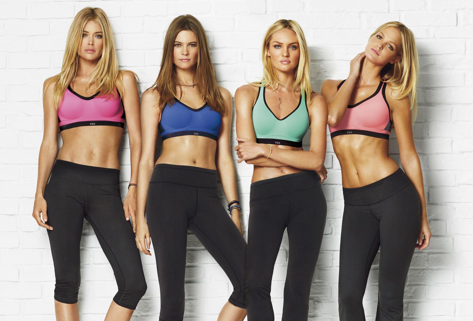 Il reggiseno-sport di Victoria's Secret
