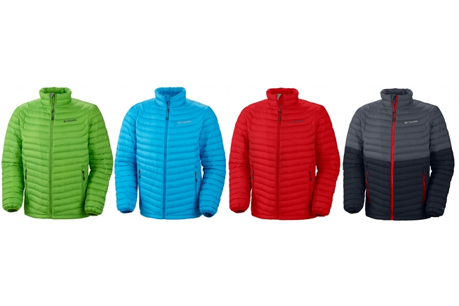 Down Jacket Columbia Powerfly