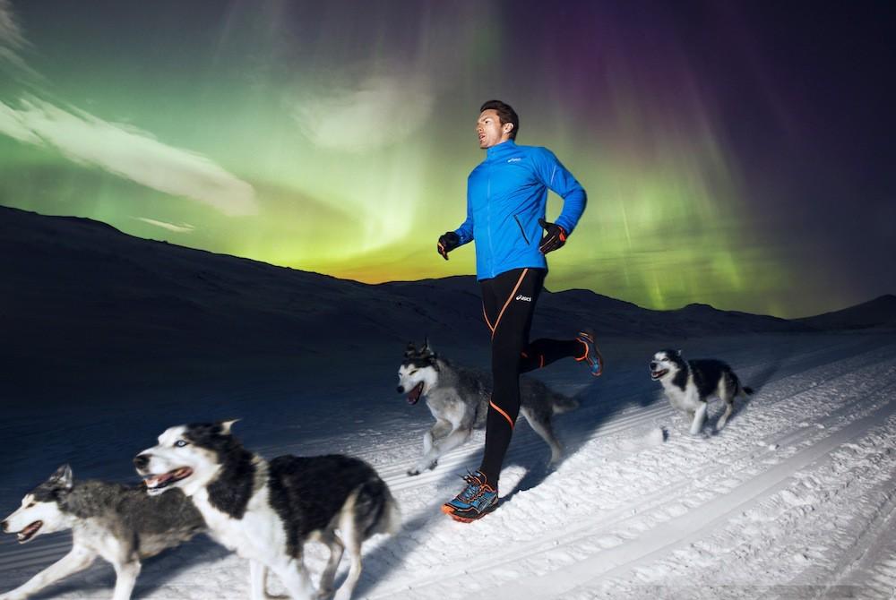 Asics Winter Running: le foto della corsa con i Siberian Husky a Tänndalen