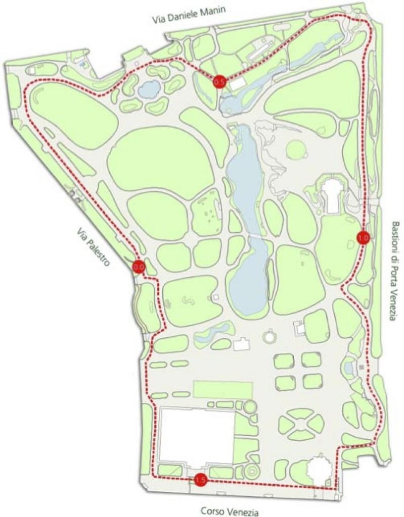 Dove correre a milano 6 percorsi nei parchi in citt - Parco di porta venezia ...