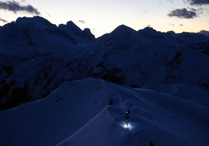 Nachtspektakel – Tour the Moon, 5 escursioni di scialpinismo in notturna