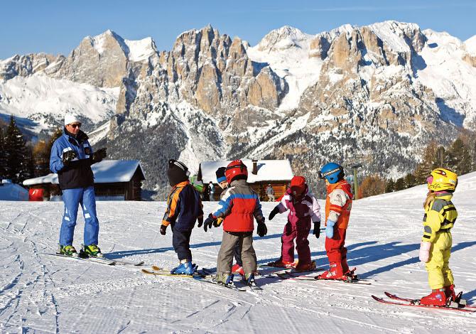 A che età insegnare ai bambini a sciare?