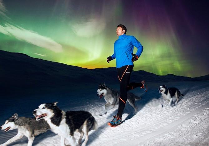 Prova – Asics Winter Running