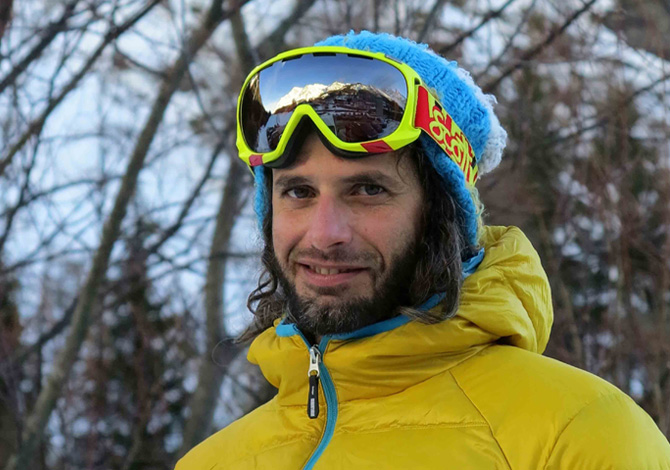 Luca Pandolfi, snowboard senza limiti