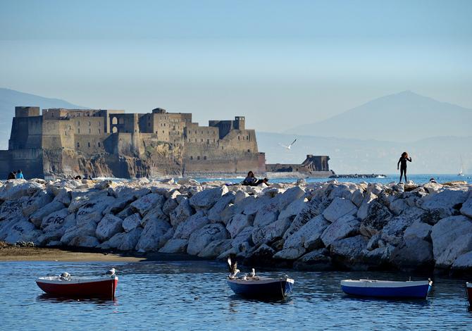 Correre a Napoli (con vista Golfo)