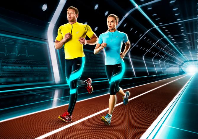 Asics Muscle Support: i sostenitori della corsa