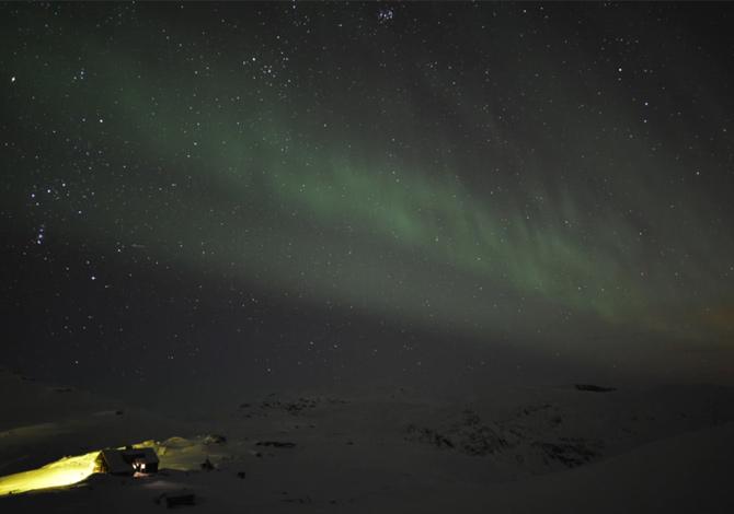 La magia dell'aurora boreale