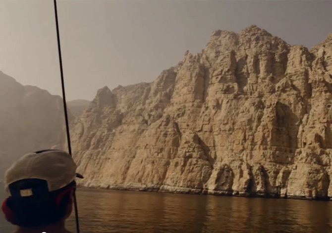 Climbing in Oman