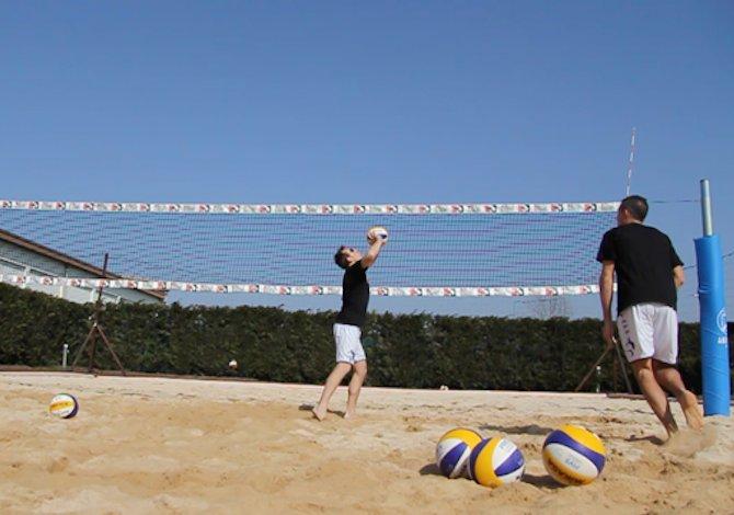Beach volley: migliorare il palleggio