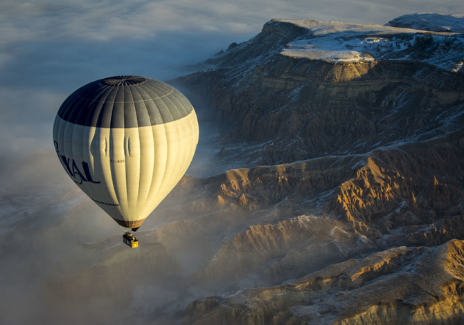 La Cappadocia vista da lassù: come fare foto dal cielo