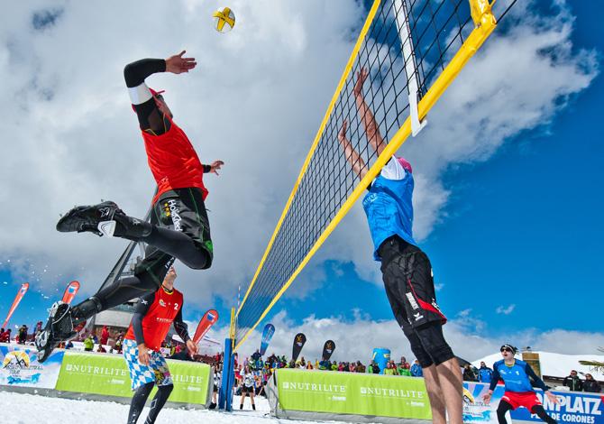 SportOutdoor24 partecipa allo Snow Volleyball Tour
