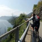 Bicicletta sul Lago Maggiore