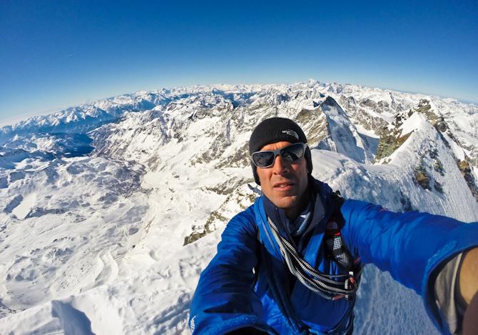 Hervè Barmasse: sali con passione, poi fatti un selfie
