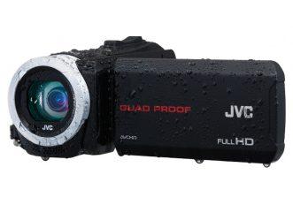Le camcorder JVC Everio ora non temono l'outdoor