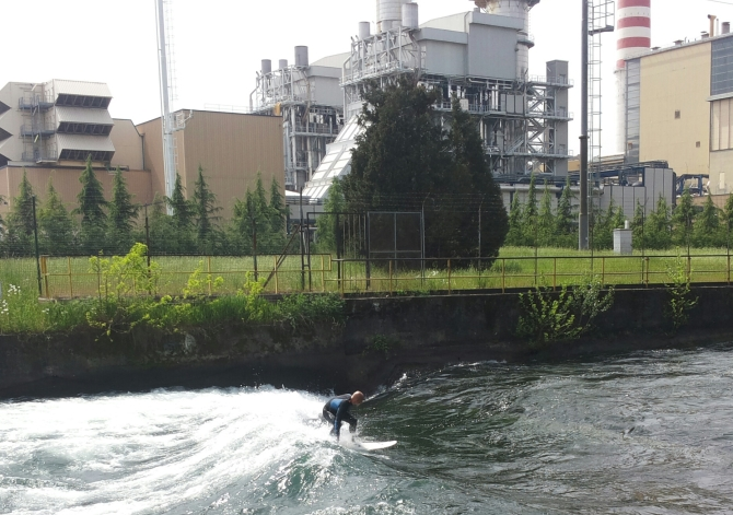 Surfare a Milano sulla Turbo Onda