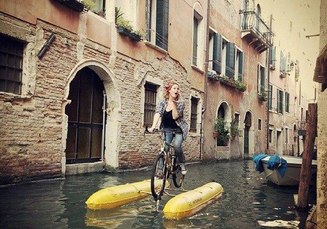 Shuttle Bike: quelli che pedalano sulle acque