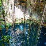 Cenote Blu Yucatan_Game of light