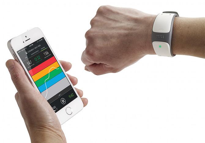 Mio Link, il braccialetto-orologio con cardiofrequenzimetro