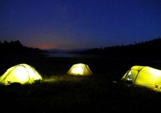 Corso avanzato di campeggio con Salewa in Val di Fassa