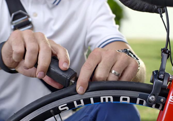 Patchnride: come riparare una gomma di bicicletta bucata in 1 minuto