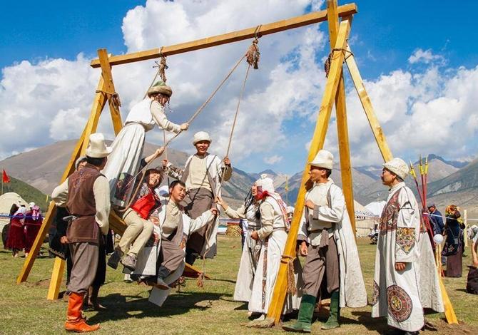 Foto: le prime Olimpiadi dei popoli nomadi