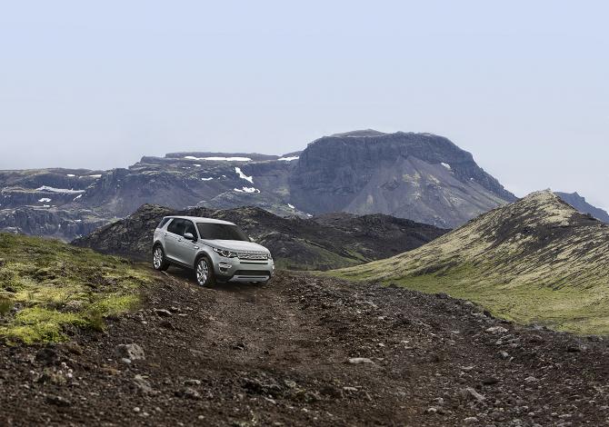 La nuova Land Rover Discovery Sport