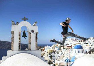 The Art of Motion, i migliori freerunner al mondo si sfidano a Santorini