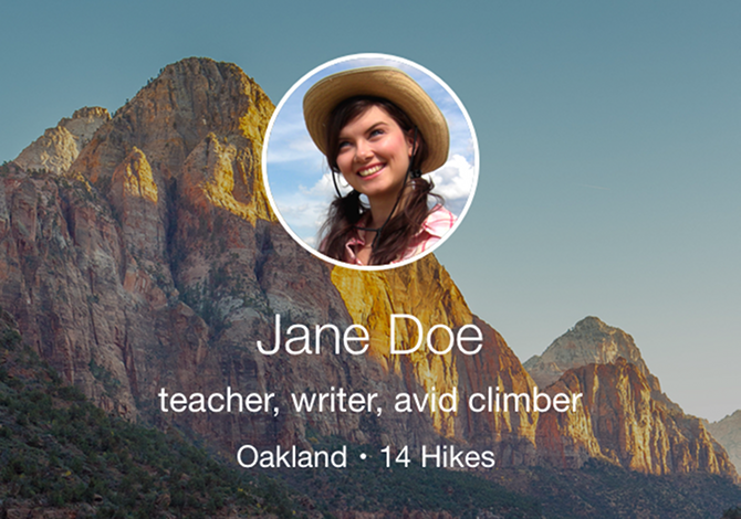 Hike With Me App