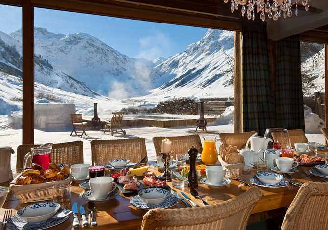 Chalet da nababbi: vacanze sulla neve extra lusso