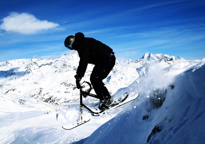 3 nuovi sport da praticare sulla neve