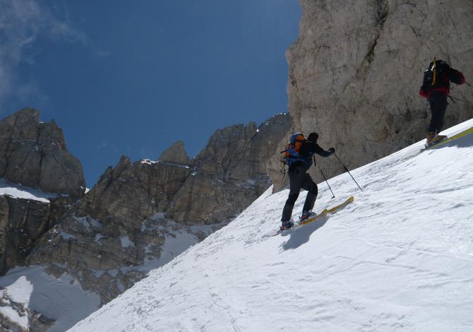 Vette del Corno Grande - scialpinismo in Abruzzo