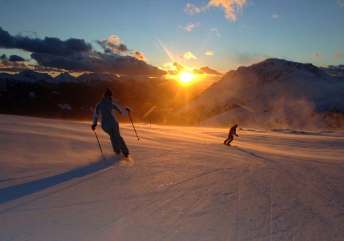 Sciare all'alba? In Trentino si può…