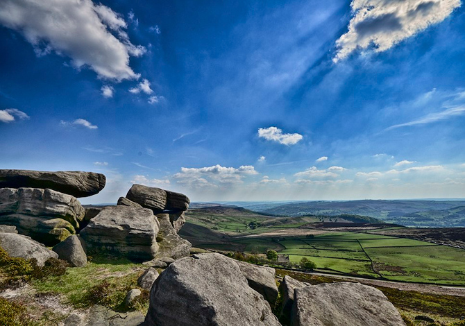 Stanage Edge Peak National District Park