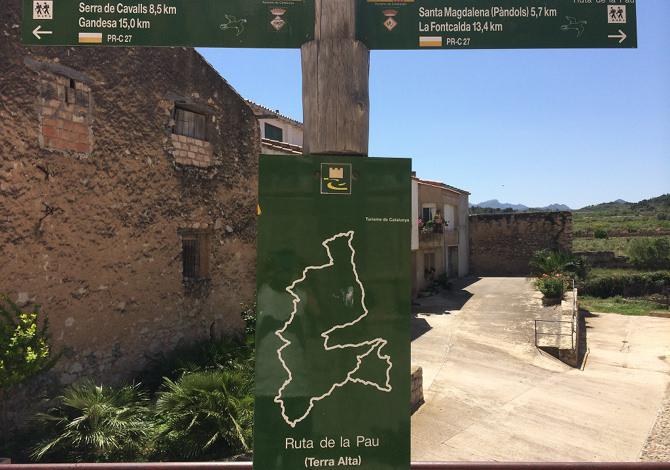 Via Verde Ruta de la Pau Spagna