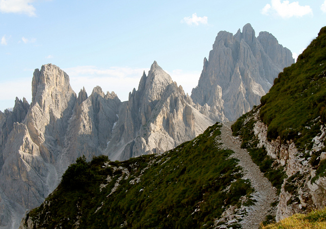 La scala di difficoltà dei sentieri escursionistici