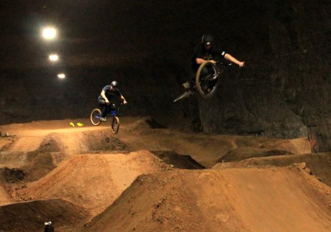 Louisville Mega Cavern, il più grande bike park coperto del mondo