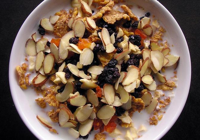 Cereali da non mangiare di notte