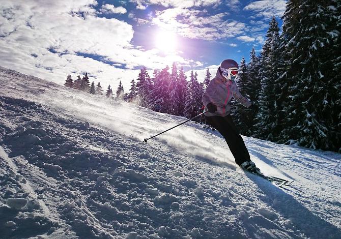 Come cadere con gli sci per non farsi male