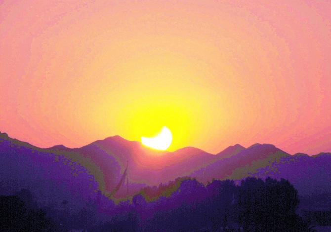 il sole che risale