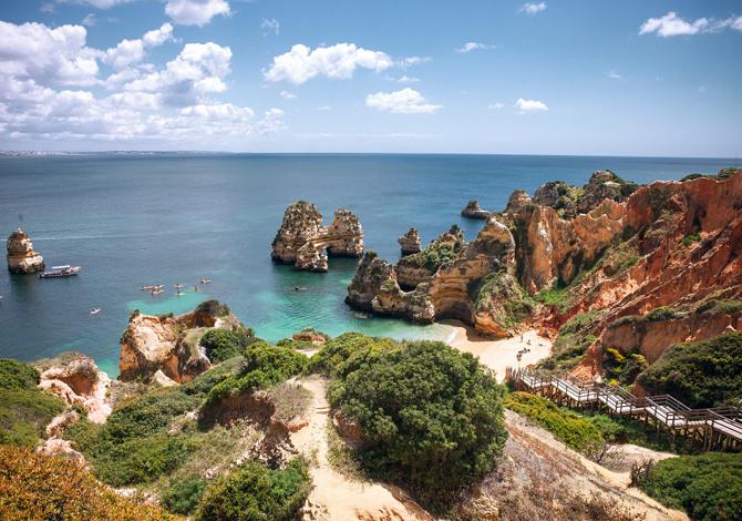 L'Ecovia Litoral in Algarve
